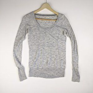 Old Navy Long Sleeve Top Gray Size XS